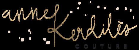 Logo Anne Kerdilès Couture