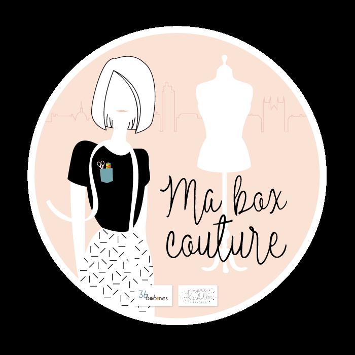 Ma box couture – Anne Kerdilès Couture – 36 Bobines