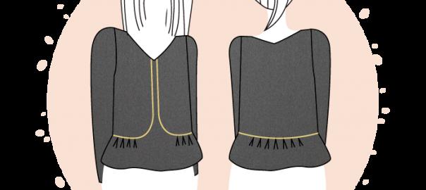 Nouveau patron : la blouse Nantes