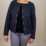 Patron couture cardigan Bergen - Anne Kerdilès Couture