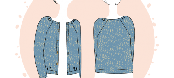 New pattern: Bergen Cardigan