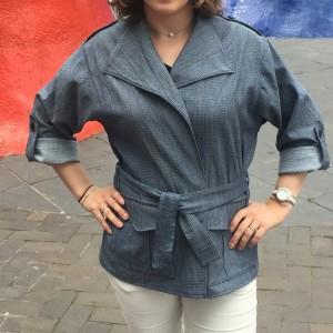 Veste Tanger Anne Kerdilès Couture - Les bricoles d'Anne-Cé